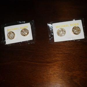 Mk earrings